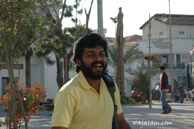 ameer and karthi in paruthiveeran