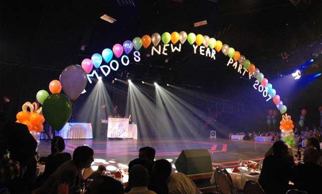 New Year Party at Amdocs | The missing link in Ram-Sethu