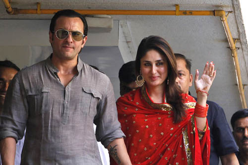 weddingceremony pics Saif Kareena wedding photos