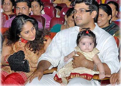 Ajith Shalini Daughter Anoushka
