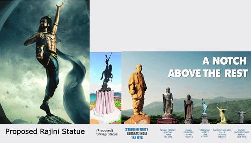 rajini_statue